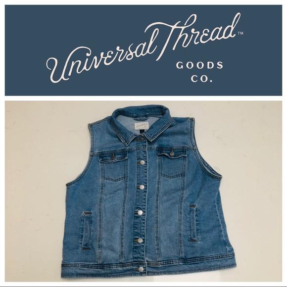 e16a51f489 XXL Denim Vest Plus Size Jeans Vest 2X Women s